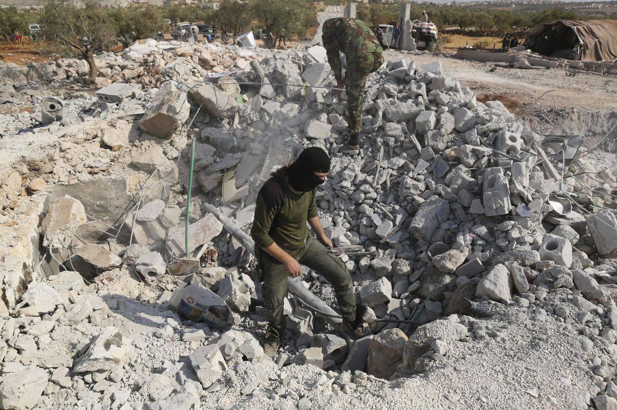 GFATF - LLL - Islamic State leader hiding from coronavirus plague as terrorists move underground