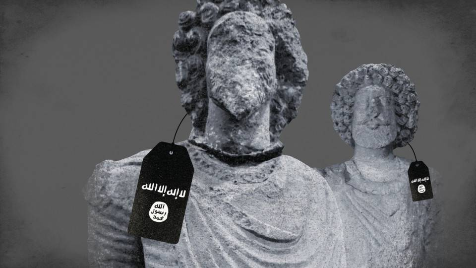 GFATF - LLL - Islamic State terrorist group admit to looting oil and obscene amount of antiquities to fund its terror activities
