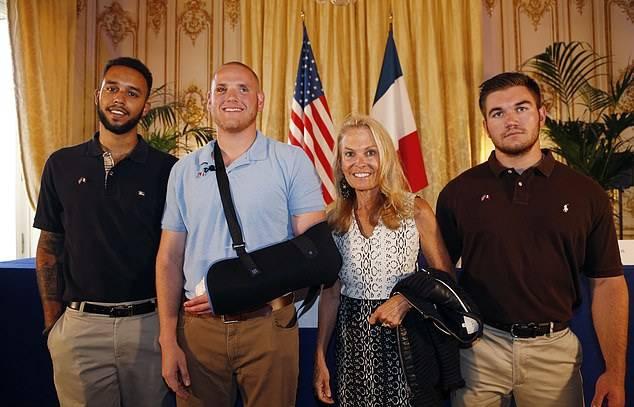 GFATF - LLL - Islamic State terrorist tells trial he aimed his gun at US soldiers heads during Paris train attack