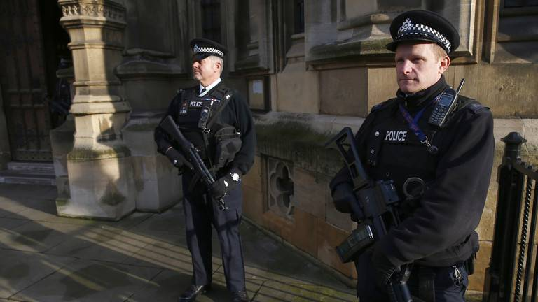 GFATF - LLL - London's Metropolitan Police arrested two men on suspicion of terrorism offence in Westminster